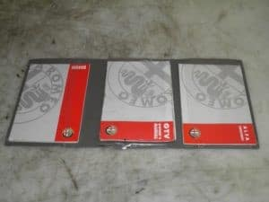 GTV Owners Manual Book Pack – Alfa Romeo 916 GTV 1995-1998