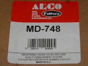 Alco MD-748 2.0 TS Air Filter BRAND NEW – Alfa Romeo 916 GTV Spider 1995-2005