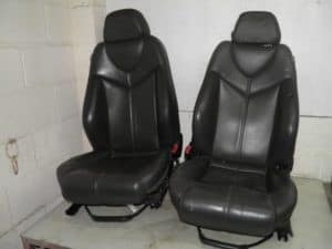 Front LEFT Black Leather Seat – Alfa Romeo GT 2000-2010