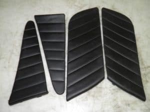 Black Leather Door Card Inserts – Alfa Romeo 156 1998-2005