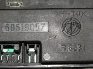 Window Control ECU 60619057 – Alfa Romeo 916 GTV Spider 1995-2005