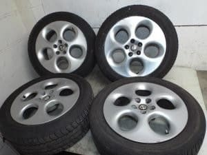 5×98 16 inch Alloy Wheels with Tyres – Alfa Romeo 916 GTV Spider 156 147 GT