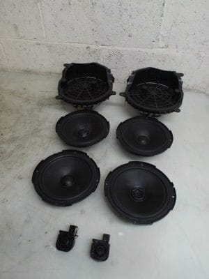 Complete DSP Speaker System Doors and Tweeter with Subwoofers – Alfa Romeo 166 1998-2008