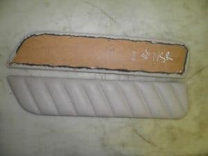 Rear LEFT Beige Tan Leather Door Card Trim – Alfa Romeo 166 1998-2008