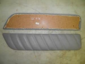 Rear LEFT Grey Leather Door Card Trim – Alfa Romeo 166 1998-2008