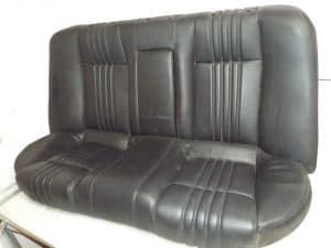 Rear Black Leather Seats – Saloon/Sedan Lusso – Alfa Romeo 159 2005-2012