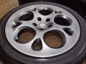 17inch Supersport Alloy Wheels with Tyres – Alfa Romeo 166 1998-2008