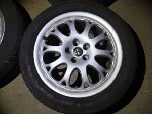 16 inch 5×98 Alloy Wheels with Tyres – Alfa Romeo 916 GTV Spider 1995-2005