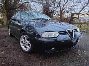 Alfa Romeo 156 Veloce 2.0 Twinspark 2002 – Metallic Dark Blue ***FOR SALE***